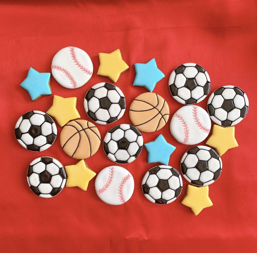 ボールアイシングクッキー